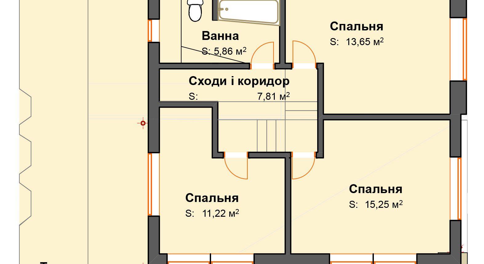 Typovy2 для генплану _ 2. 2-й этаж